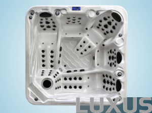Luxus outdoorspa Vulcan