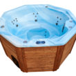 Luxus hottub light-blue